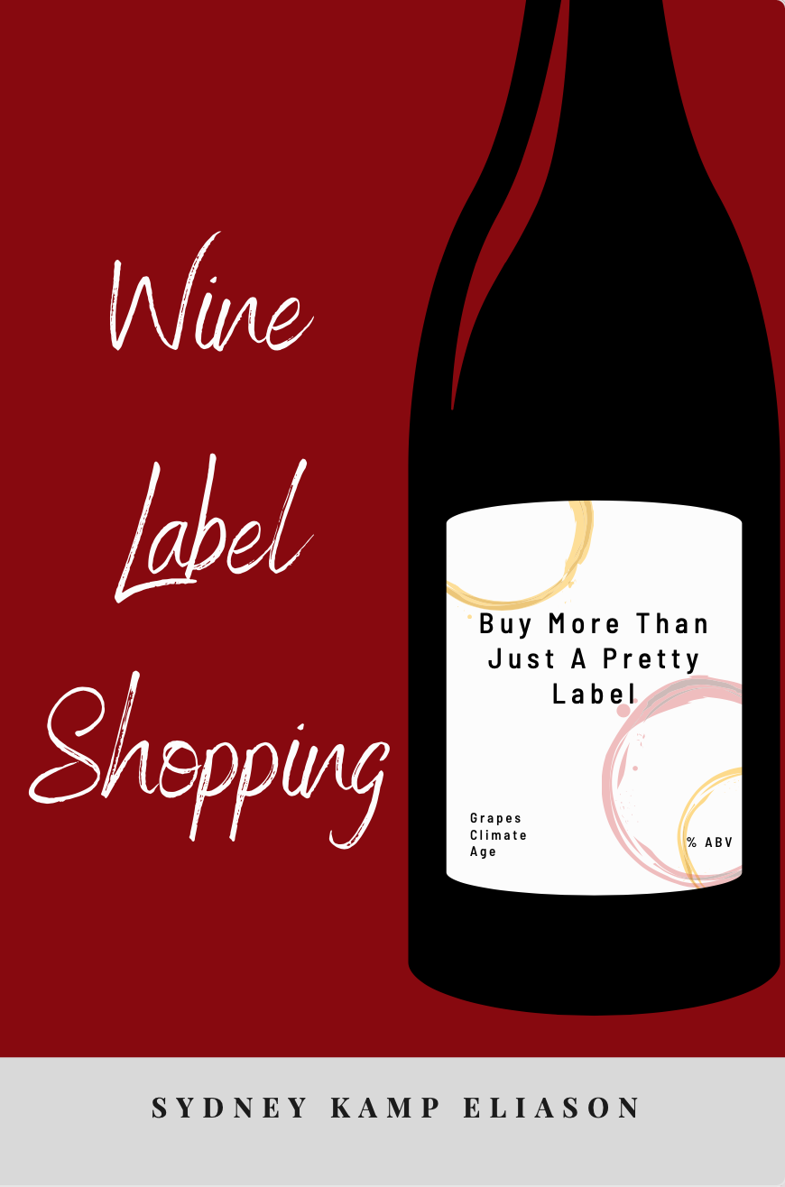 Wine Label Shopping Book Cover